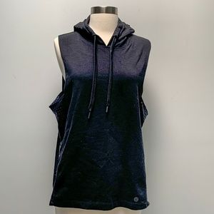 ⭐️Seafolly perforated sleeveless muscle hoodie